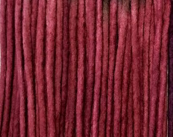 Wool Dreads Handmade Hair Extensions Wool Dreads Ombre Hair Accessories Set of 36 Singles