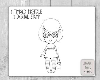 Esercitare Il Timestamp Digitale Maiale Stamp Maiale Digitale