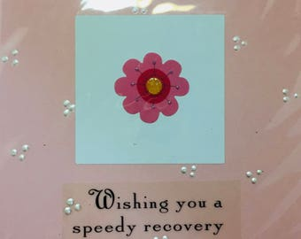 Handmade Get -well, Thinking of You Card