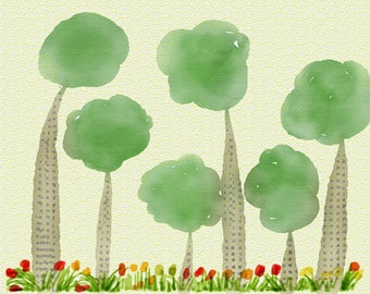 Trees by Glenda Thomas