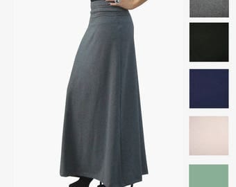 A Line Skirt - Plus Size Skirt - A-Line Maxi Skirt - Womens Long Skirt - Petite Skirt - Tall Maxi Skirts - Flare Maxi Skirt - Custom Size