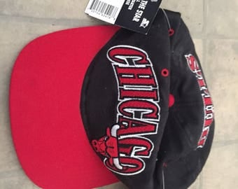 Vintage  90's Chicago Bulls hat WITH TAGS , never worn !