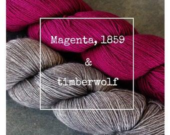 Magenta, 1859 & Timberwolf Yak Attack Pack for Kirsten Kapur's MKAL