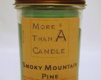 8 oz Smoky Mountain Pine Soy Candle