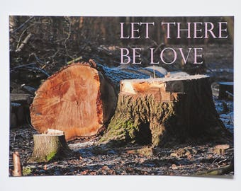 Postcard -  Let there be Love