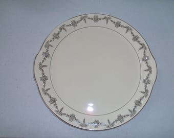 Taylor Smith & Taylor 1825 Handled Cake Plate
