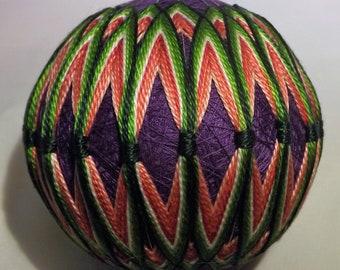 Japanese Temari Ball Multicolor