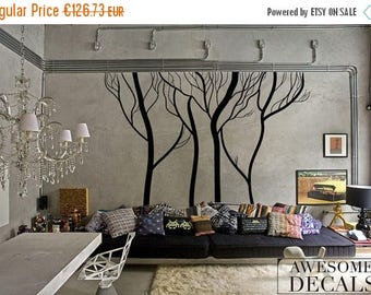 Black Friday SALE 15% OFF Winter Tree Wall Decals U2013 Living Room Wall Decal