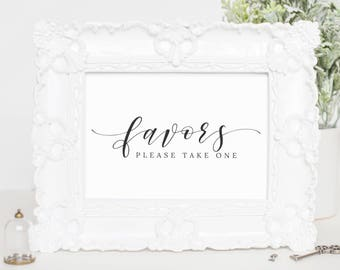 Wedding Favor Sign, Wedding Favor Printables, Wedding Decorations, Wedding Template Printable, Custom Wedding Favor, For Wedding, WP007_7