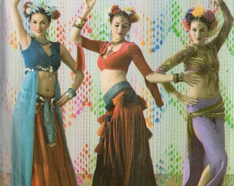 The Dance Studio BELLY DANCER COSTUMES Simplicity Pattern 3832  Misses 6 8 10 12