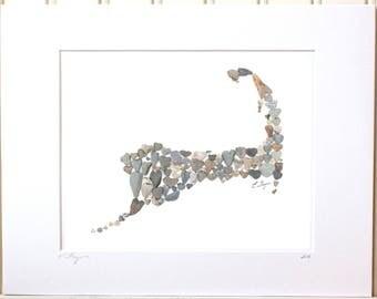 Cape Cod map print, Cape Cod wedding gift, Cape Cod wall art, Cape Cod gifts, Cape Cod decor, Cape Cod souvenier, Cape Cod shower