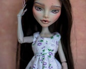 OOAK Custom Monster High doll - Ghoulia Yelps