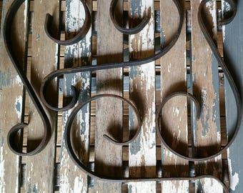 Vintage architectural iron.