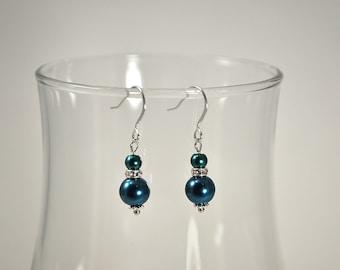 Royal Pearl Bridesmaid Earrings