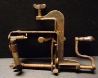 Antique 1800's Apple Corer- Complete