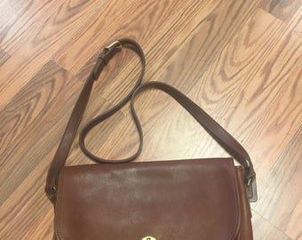 Vintage leather Coach