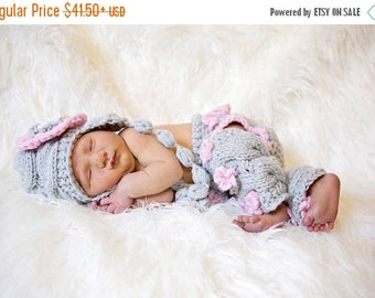 ON SALE 20% DISCOUNT Baby Girl Coming Home Outfit -Baby Girl Hat , Diaper Cover and Leg Warmers-Newborn Baby Girl Outfit -Photography Photo
