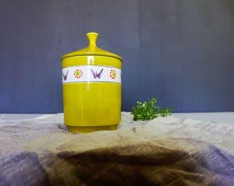 Vintage Bitossi Aldo Londi Rosenthal Netter Cookie Jar/ Canister/Storage