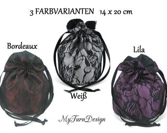Pompadour, bag, evening bag, dirndl bag, costume bag, Oktoberfest, historic costume, ball, festive, wedding, bridesmaid