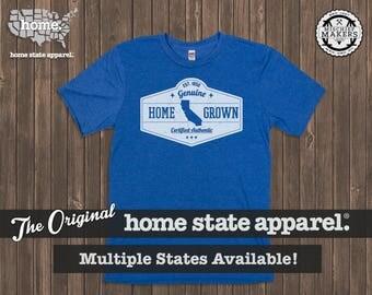Homegrown T Shirt: Men's / Unisex - Sea Blue