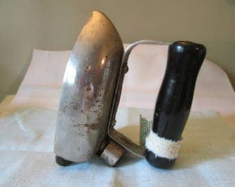 Vintage LaPetite Electric Iron, Meall Rite Co Indiana, Iron Collector, Travel Irons, Made in USA