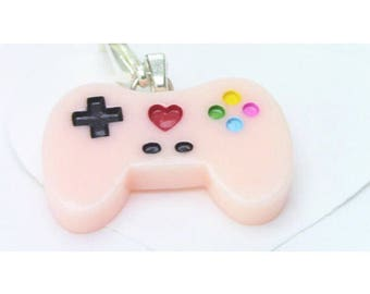 Pastel Game Controller Charm
