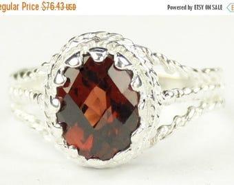 On Sale, 30% Off, Mozambique Garnet, 925 Sterling Silver Ladies Ring, SR070