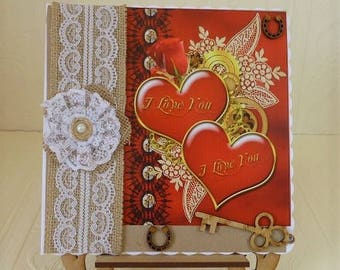 Steampunk Wedding Day Card