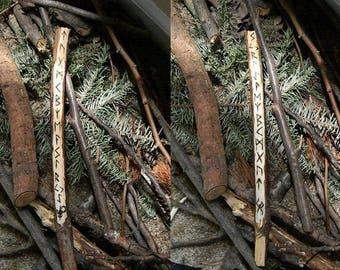 Personalized runic stick