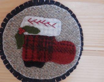 Santa's Boot Ornament