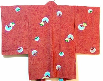 Silk haori kimono jacket