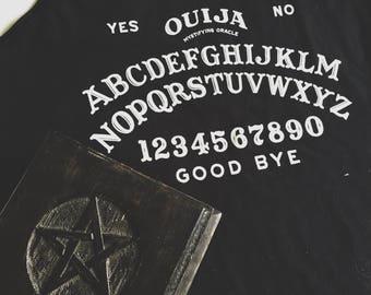 Ouija Board Tank - Hand Drawn Graphic Tank - Graphic Tee - Graphic Tank Top