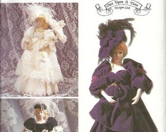 "25% OFF Simplicity 9712     Clothes for a 17"" Decorative Doll   Uncut"