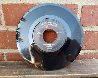 Vintage 45 Record - Don McLean - American Pie (Part 1 & 2)