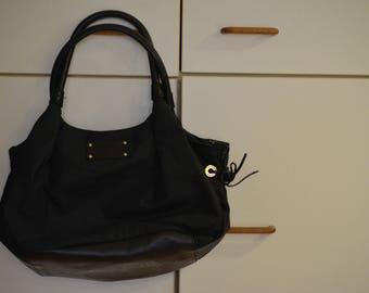 Vintage black bag purse by Kate Spade
