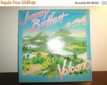 Save 30% Today Vintage 1979 LP Record Jimmy Buffett Volcano Near Mint Condition Rare Brazil Import Pressing 9008