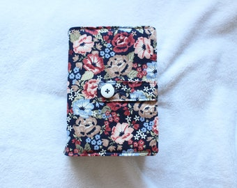 The Emma - Floral Quad LDS Scripture cover in different sizes!
