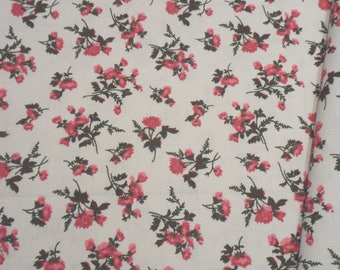 """a beautiful cut of cotton fabric """"bouquet of flowers"""""""