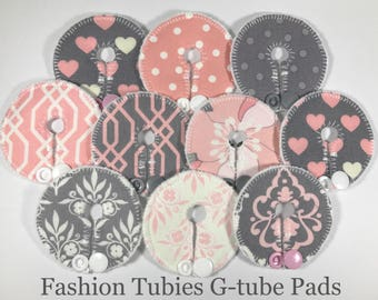 Gtube pads , button covers, feeding tube pads, G-tube pads, mic-key button cover, feeding tube pads (covers) g tube pads