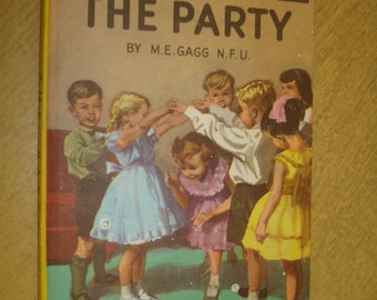 The Party, M.E. Gagg.  Ladybird Series 563. Good condition. 1960