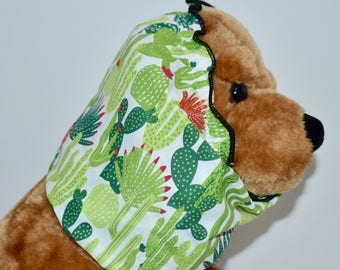 cactus dog snood, succulent, cacti, desert, arizona, Palm Springs, cavalier snood, spaniel snood