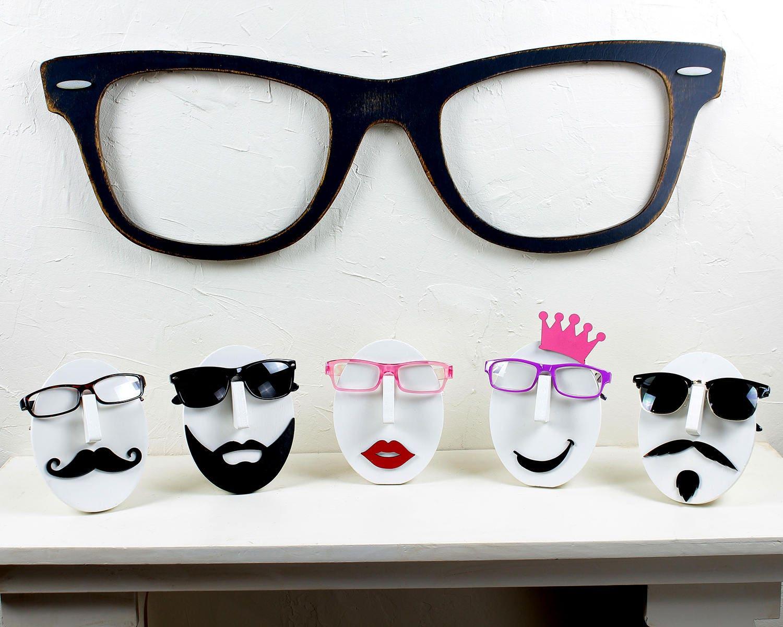 Brand-new Giant Wayfarer Eyeglasses Big Wayfarer Sunglasses Big Black  PY68