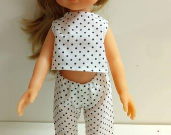 Pants and Bolero for doll Corolla sweethearts or 33cm doll handmade. Cotton