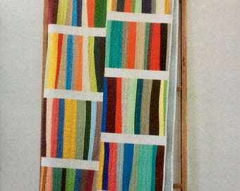A Different Stripe Quilt and Sham Pattern - Denyse Schmidt - Denyse Schmidt Quilts - DSQ 015
