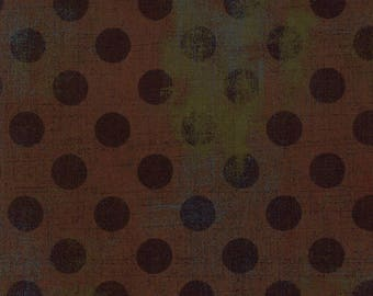 1/2 Yard - Grunge Hits the Spot - Hot Cocoa - BasicGrey - Moda - Fabric Yardage - 30149 14