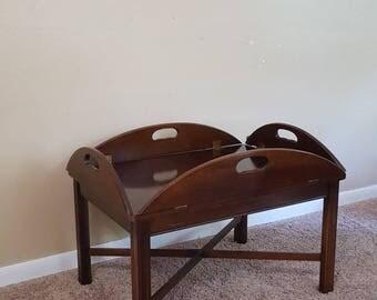 mahogany end table | etsy