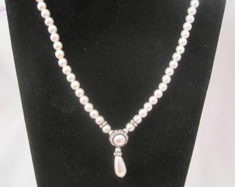 """16"""" Vintage Faux Pearl Necklace"""