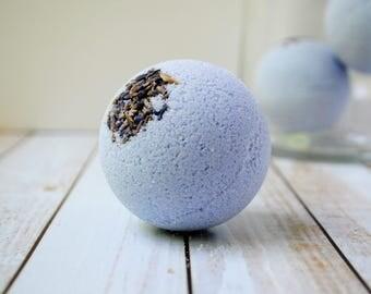 Lavender Bath Bomb - Purple Bath Fizzy - Handmade Bath Bomb - French Lavender Bath Fizzy - Shea Butter Bath Bomb - Purple Bath Bomb