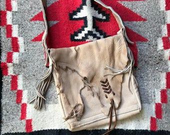 Handmade Elk hide Bag