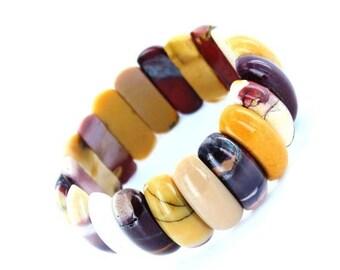 ON SALE Mookaite Arch Bracelet
